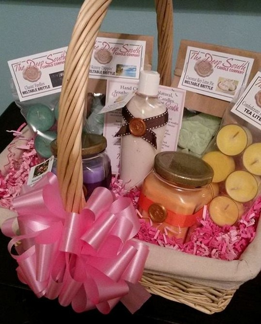 Soy Candles The Deep South Candle Company Custom Gift Baskets